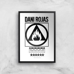 Far Cry 6 Dani Rojas Giclee Art Print
