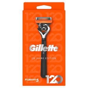 Gillette Fusion5 Rasierer 120 Jahre Edition