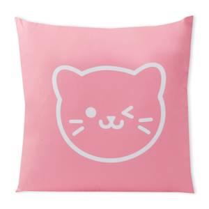 Very Neko Wink Square Cushion