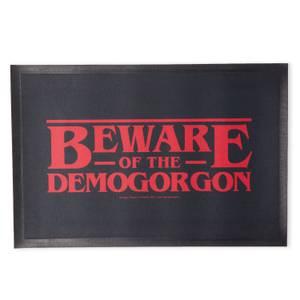 Stranger Things Beware The Demogorgon Entrance Mat