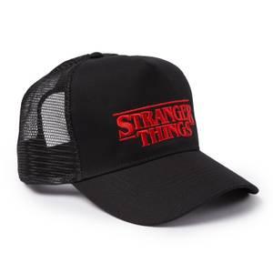 Stranger Things Trucker Cap - Black