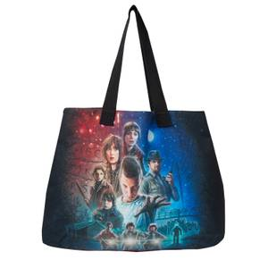 Stranger Things Classic Poster Tote Bag
