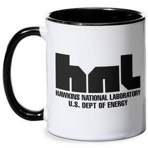 Stranger Things Hawkins Lab Mug - Black