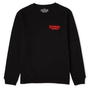 Stranger Things Stuck In The Upside Down Unisex Sweatshirt - Black