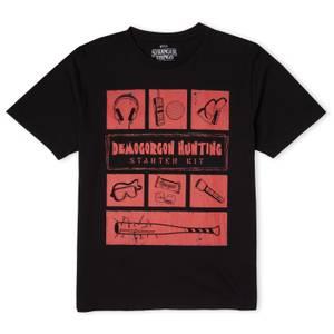 Stranger Things Demogorgon Hunter Men's T-Shirt - Black