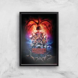 Stranger Things Season Two Poster Giclee Art Print