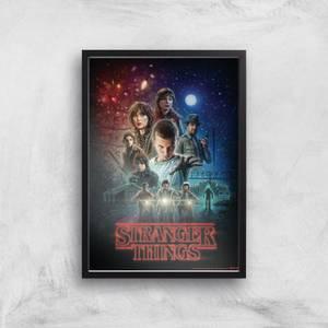 Stranger Things Season One Poster Giclee Art Print