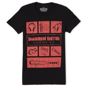 Stranger Things Demogorgon Hunter Women's T-Shirt - Black