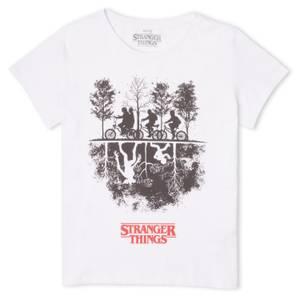 Stranger Things Upside Down Women's T-Shirt - White