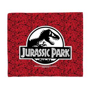 Jurassic Park Logo Bed Throw