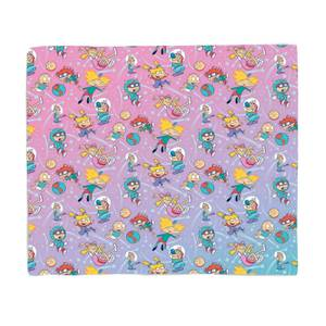 Nickelodeon Space Cadets Bed Throw