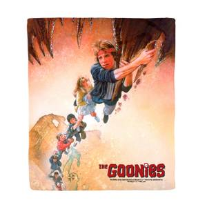 The Goonies Retro Poster Art Bed Throw