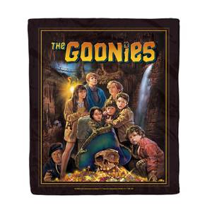 The Goonies Classic Cover Art Bed Throw