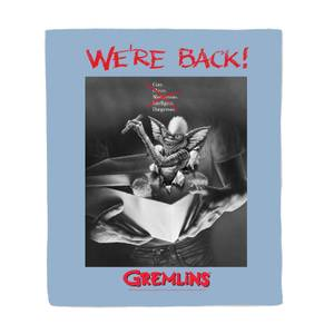 Gremlins Poster Bed Throw