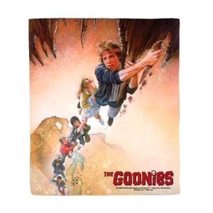 The Goonies Poster Bed Throw
