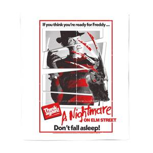 A Nightmare On Elm Street Freddy Kreuger Bed Throw