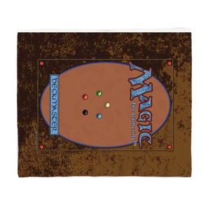 Magic the Gathering Deck Master Bed Throw