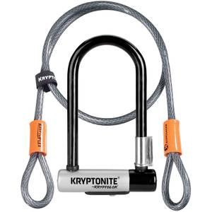 Kryptonite Kryptolok Mini-7 with Flex Cable and FlexFrame Bracket Lock