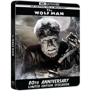 The Wolf Man - 4K Ultra HD 80th Anniversary Limited Edition Steelbook