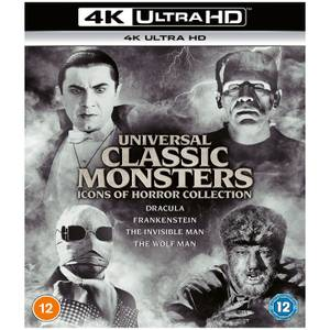 Universal Classic Monsters: 4K Ultra HD Icons of Horror Collection