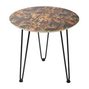 Decorsome x Batman Collage Table d'appoint en bois