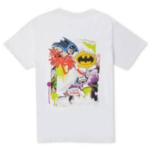 Batman Collage T-Shirt Unisexe - Blanc