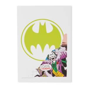 Batman Question Impression d'art Giclée