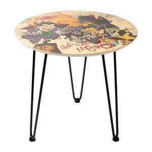 Decorsome x Batman Gotham City Hero Table d'appoint en bois