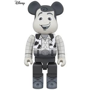 Medicom Toy Story Woody 1000% Be@rbrick (Black & White Version)