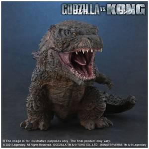 X-Plus DefoReal Series Godzilla Vs. Kong Soft Vinyl Figure - Godzilla (2021)