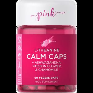 Pink Calm Caps - 60 Veggie Capsules