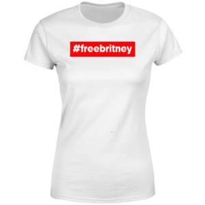 #FreeBritney Women's T-Shirt - White