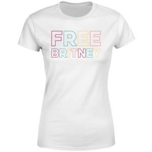 Free Britney Women's T-Shirt - White