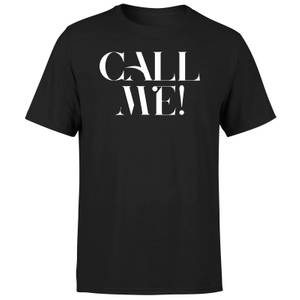 Call Me! Men's T-Shirt - Black