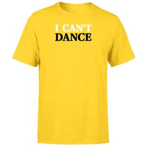 Genesis I Can't Dance Men's T-Shirt - Yellow