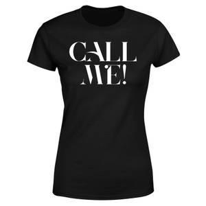 Call Me! Women's T-Shirt - Black