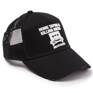 Home Taping Black Trucker Hat