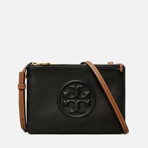 Tory Burch Women's Perry Bombé Double Zip Mini Bag - Black