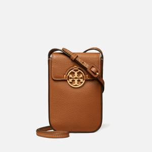 Tory Burch Women's Miller Phone Cross Body Bag - Light Umber