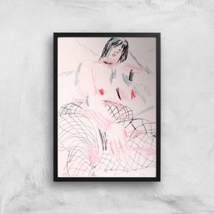 Fishnets Giclee Art Print