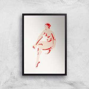 Naked Woman Giclee Art Print