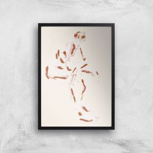 Seated Nude With Crossed Arms Giclee Art Print