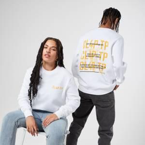 Borderlands CL4P-TP Sweatshirt Brodé Unisexe - Blanc