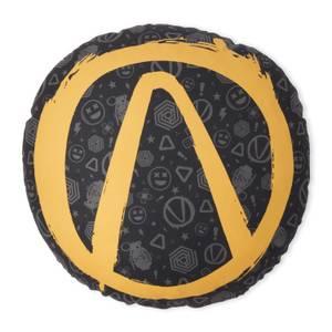 Borderlands Vault Symbols Round Cushion