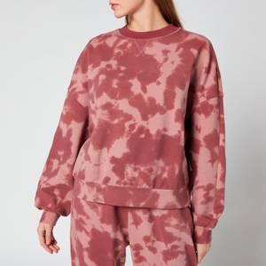 Varley Women's Erwin Sweatshirt - Deep Rose Tie Dye