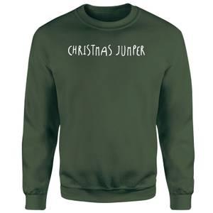 Standard Christmas Jumper Unisex Sweatshirt - Green