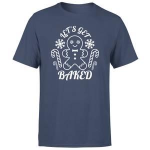 Let's Get Baked Men's T-Shirt - Navy