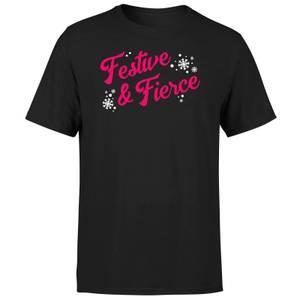 Festive & Fierce Men's T-Shirt - Black