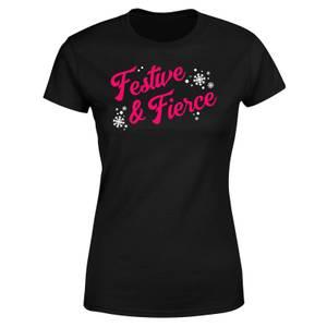 Festive & Fierce Women's T-Shirt - Black