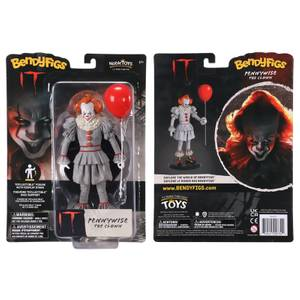 Noble Collection IT Pennywise the Clown BendyFig 7.5 Inch Action Figure